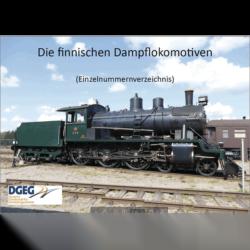 Die Finnischen Dampflokomotiven - Einzelnummernverzeichnis