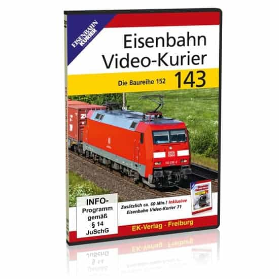 DVD - Eisenbahn Video-Kurier 143