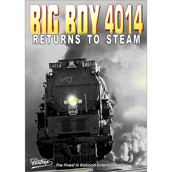 Big Boy 4014 Returns to Steam DVD/Blu-Ray