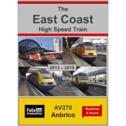 The East Coast High Speed Train (2013 - 2019) 4 Disc Set