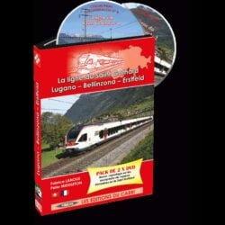 DVD LOCOVISION SUISSE N° 8 : LA LIGNE DU SAINT GOTHARD : LUGANO - BELLINZONA - ERSTFELD