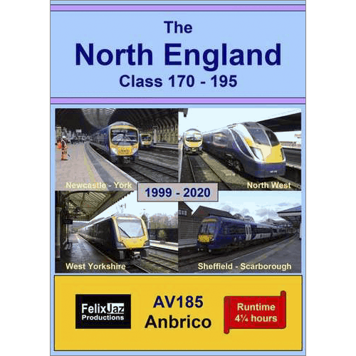 The North England Class 170 - 195 (1999 - 2020) 4 Disc Set