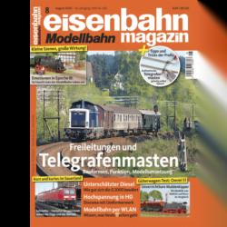 eisenbahn magazin 08/20