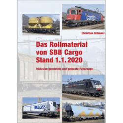 Das Rollmaterial von SBB Cargo Stand 1.1.2020
