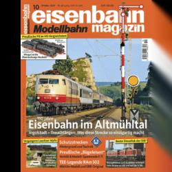 eisenbahn magazin 10/20