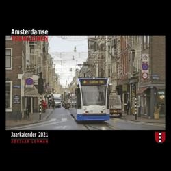 Kalender Amsterdamse tramlijnen 20121