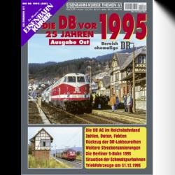 DB vor 25 Jahren - 1995 Ost