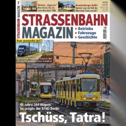 Straßenbahn Magazin 07/21